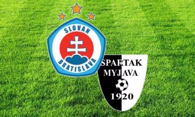 Slovan Bratislava prehral doma so Spartakom Myjava